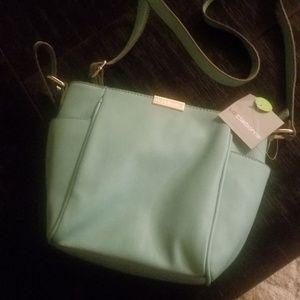 Teal hobo bag